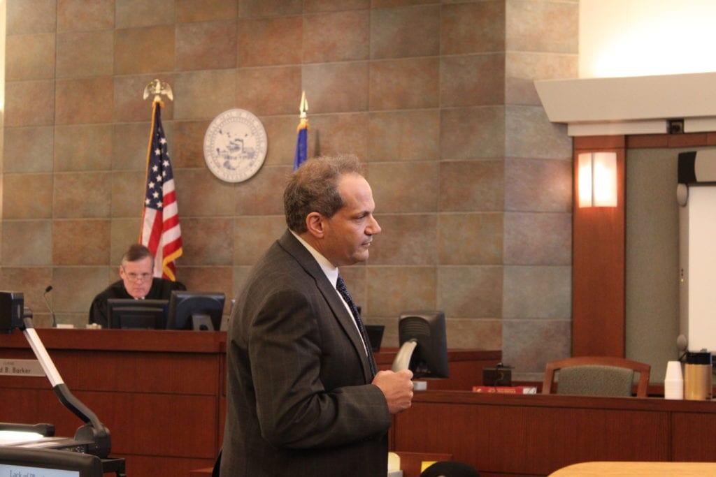 Nick Donath Addressing Jury
